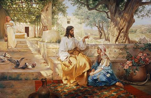 ... старых мастеров - Христос у Марии и: cezart.ru/ru/portfolio/item/genre/story01